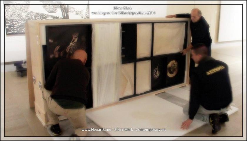 2013 Neoart3 wunderkammer Gallerie d'Italia Mario Taddei -Setup