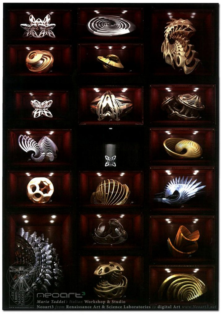 2013 Neoart3 wunderkammer Gallerie d'Italia Mario Taddei catalogo pages 840 Cfull