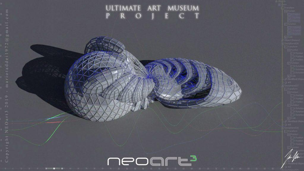 Neoart3 Mario Taddei Art from renaissance to future
