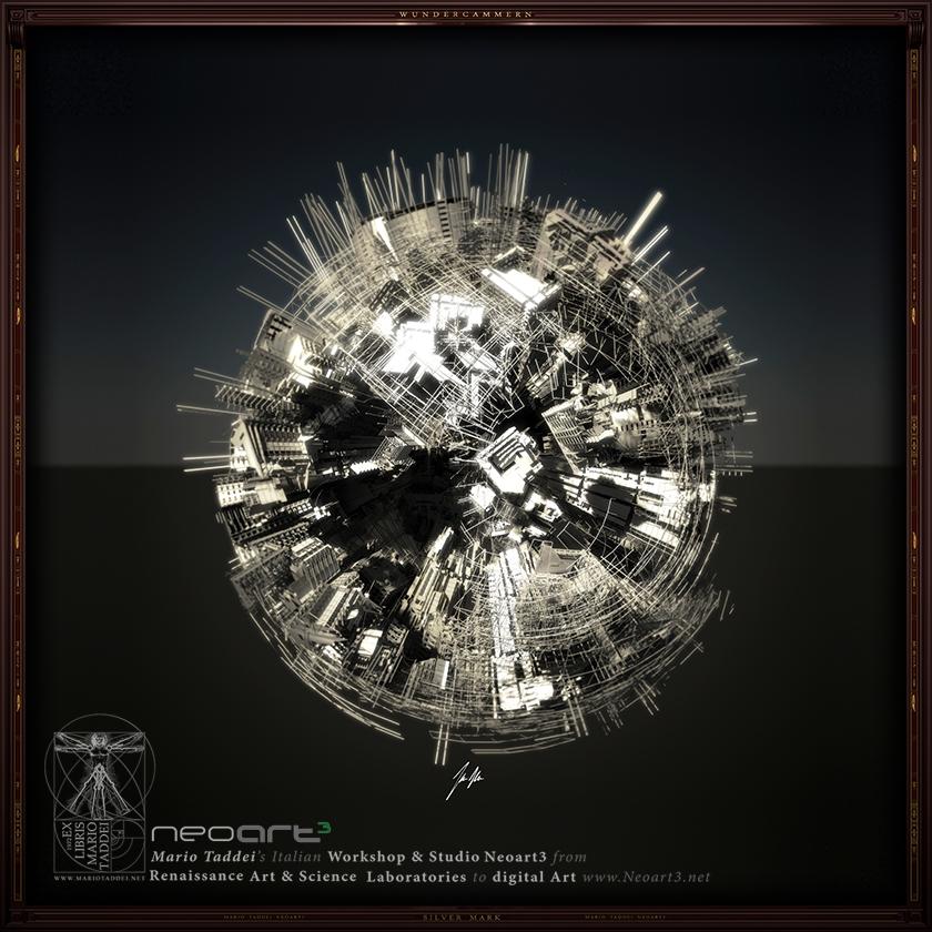 Incerse City SPHERA K110 - Mario Taddei - Neoart3 - NFTarts