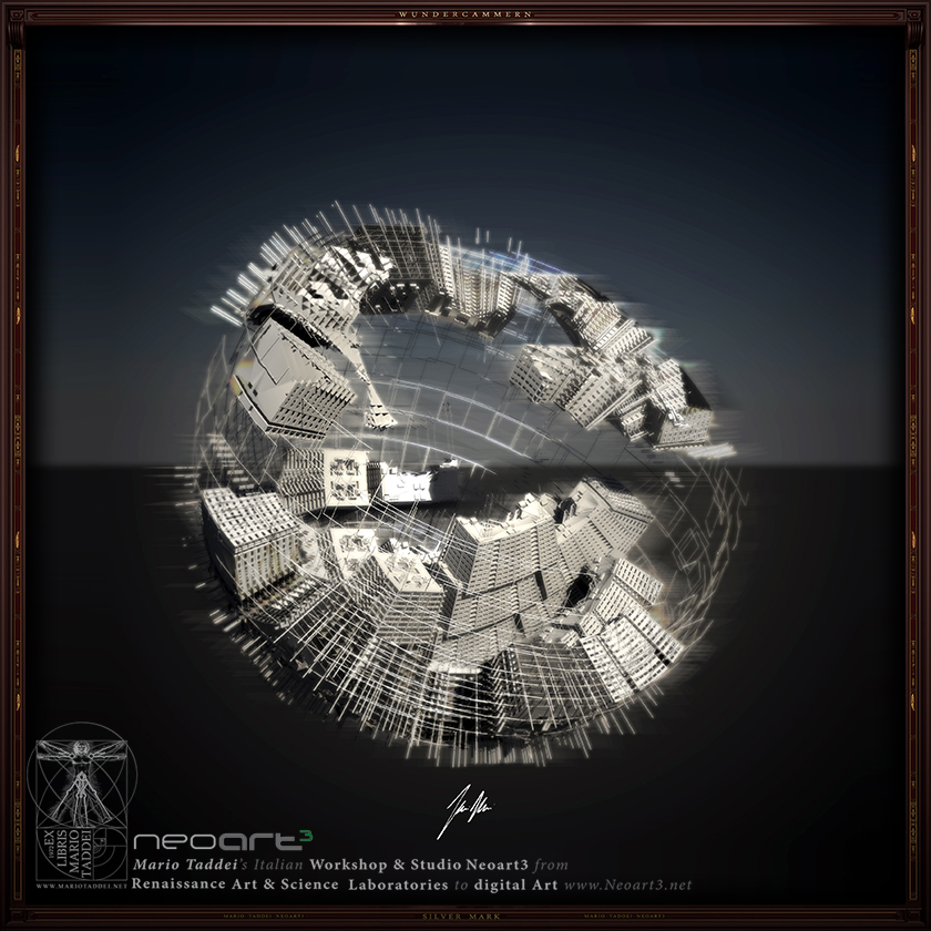 Incerse City SPHERA3 - Mario Taddei - Neoart3 - NFTarts
