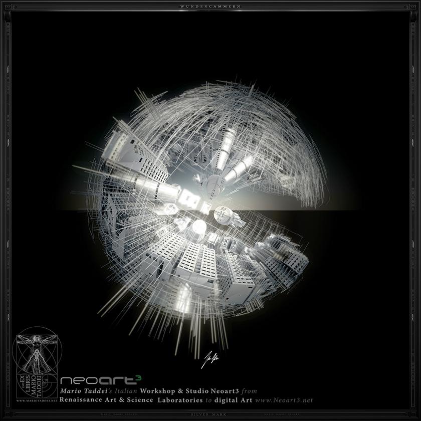 Incerse City SPHERA7 - Mario Taddei - Neoart3 - NFTarts