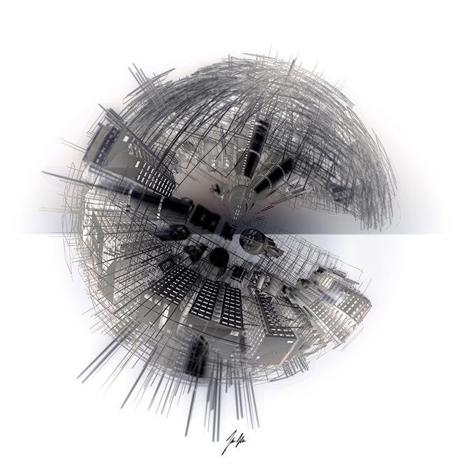 Incerse City SPHERA7N - Mario Taddei - Neoart3 -NFTarts