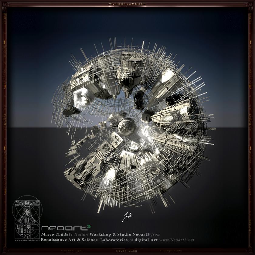 Incerse City SPHERA8 - Mario Taddei - Neoart3 - NFTarts
