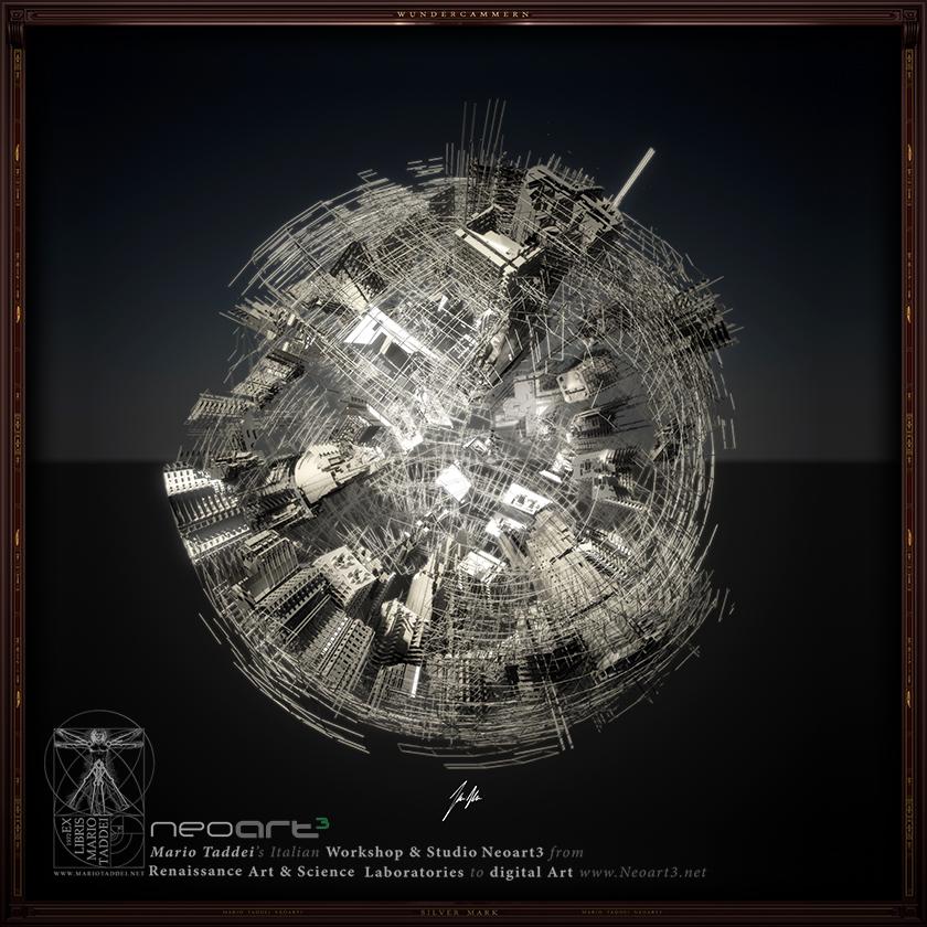 Incerse City SPHERA9 - Mario Taddei - Neoart3 - NFTarts