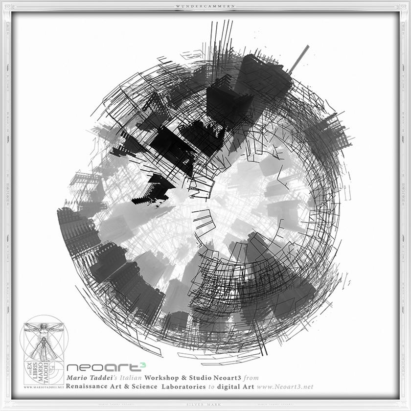 Incerse City SPHERA9Z - Mario Taddei - Neoart3 - NFTarts
