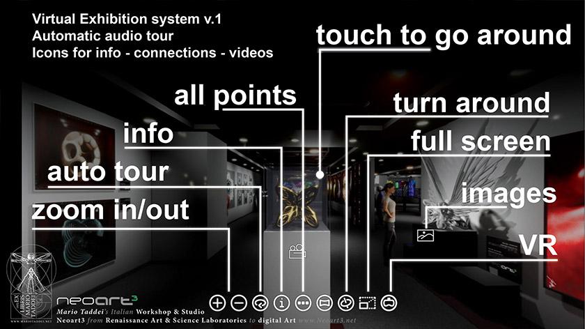 Neoart3 Virtual Gallery 360 web