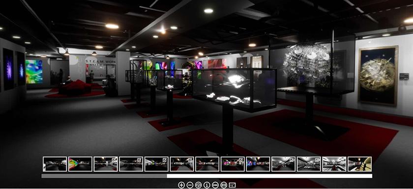 Neoart3 Virtual Gallery 360 web - Mario Taddei