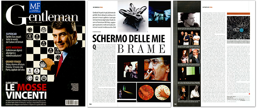 Neoart3 reviews - Gentleman 61 - Mario Taddei - Arte contemporanea - Contemporary art 3pages