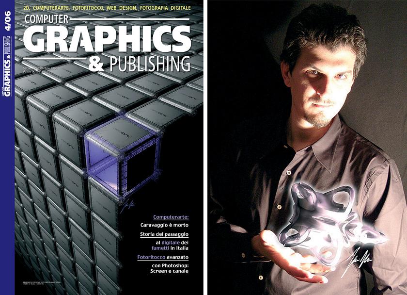 Neoart3 reviews -  Graphics e publishing ART Mario Taddei intervista Pag 00-00