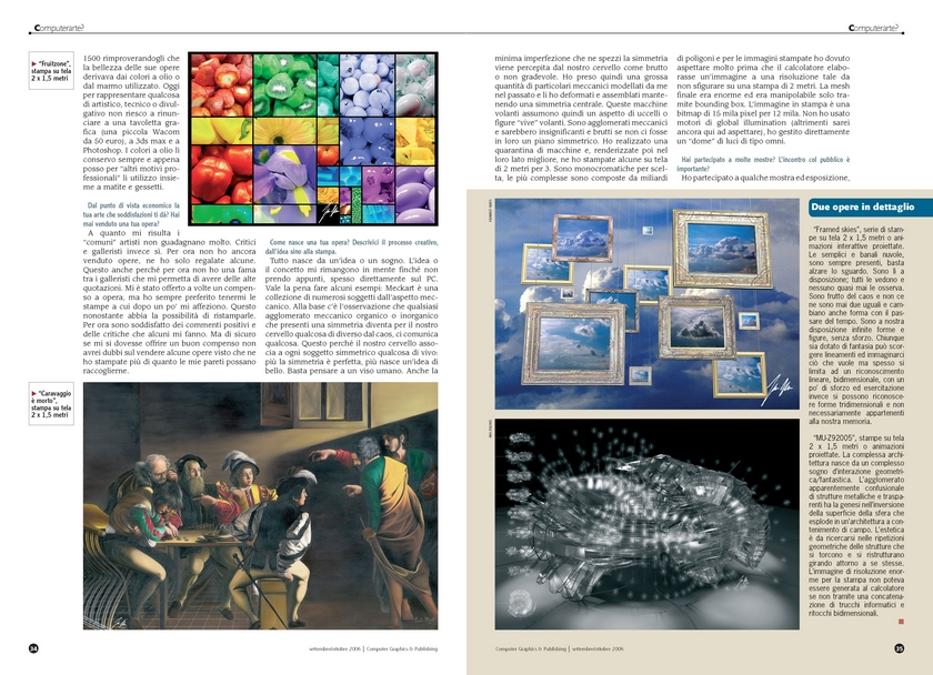 Neoart3 reviews -  Graphics e publishing ART - Mario Taddei intervista